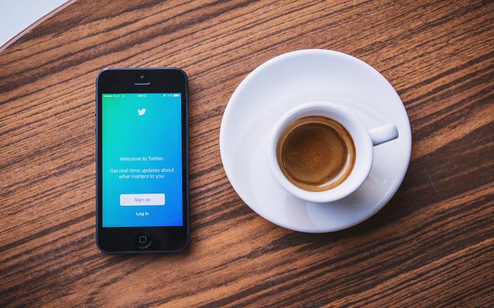 Twitter and coffee