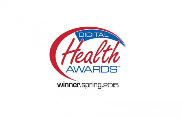 Digital Health Awards winner 2015