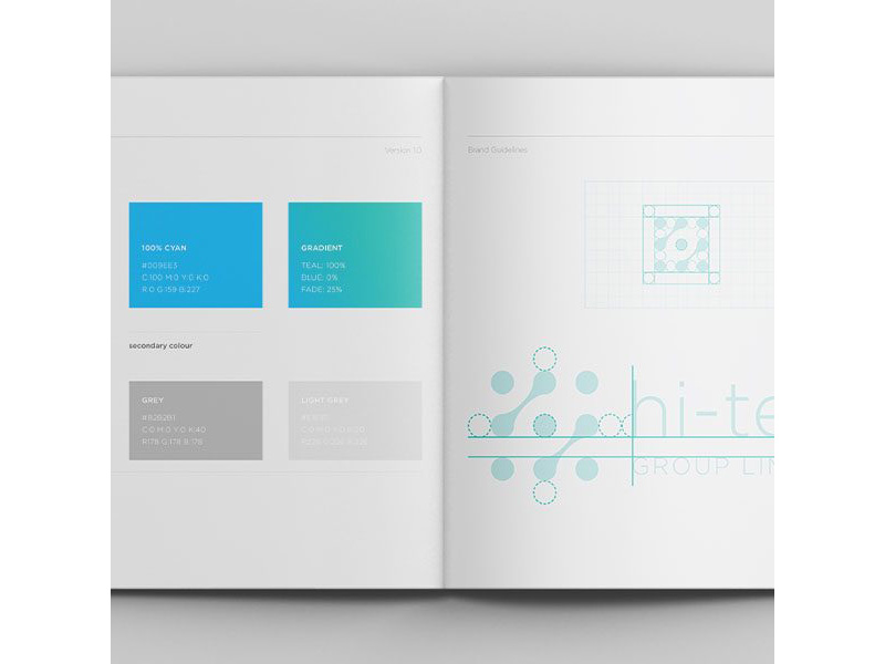 Hi-Tech group brand guidelines