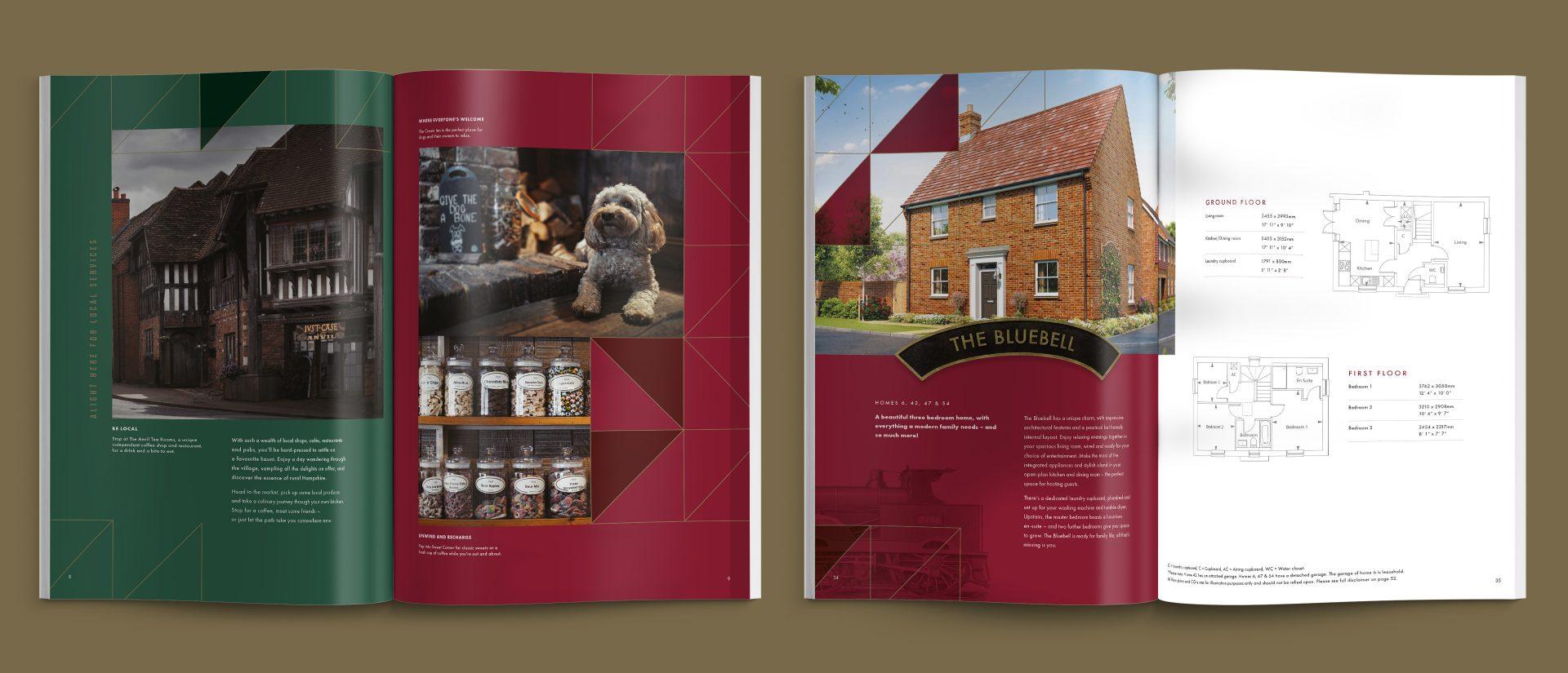 The Brick Station brochure