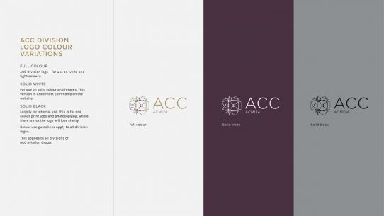 ACC Aviation brand guidelines
