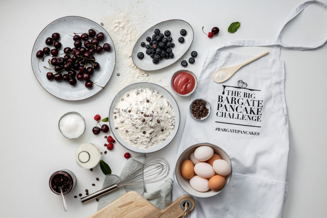 Bargate Homes pancake day photoshoot
