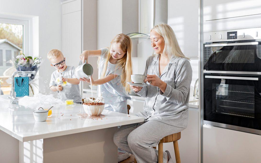 Bargate Homes family breakfast