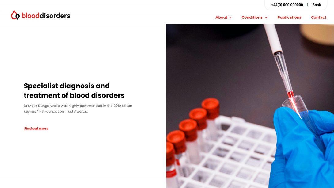 Blood Disorders website