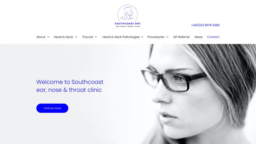 South Coast Ent. website