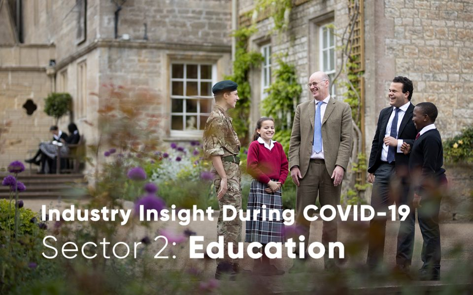 Education sector during COVID-19