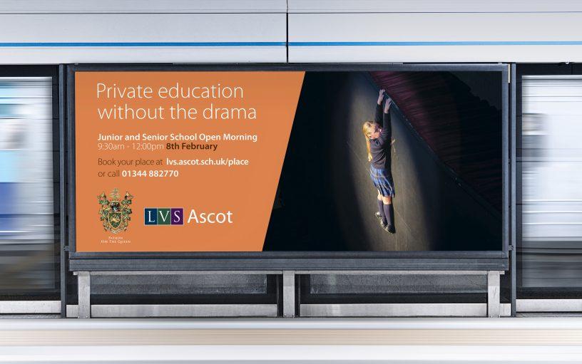 LVS School adverts in situ