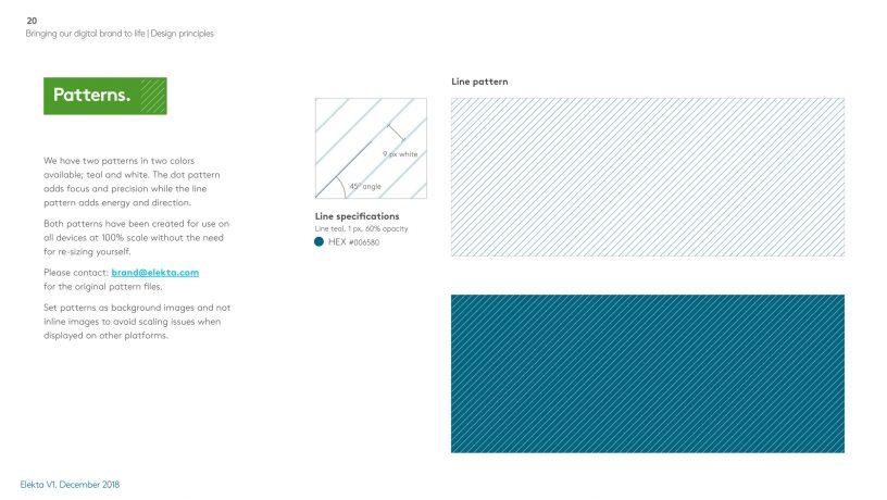 Elekta brand guidelines