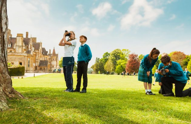 Clayesmore School photoshoot