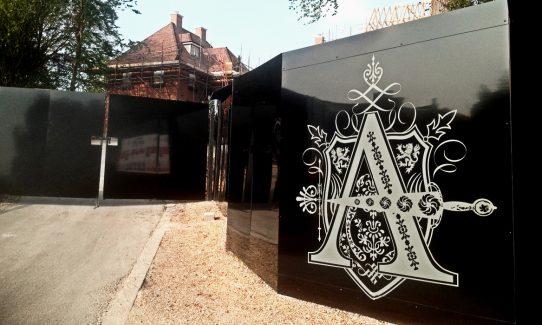 Alfred Homes hoardings