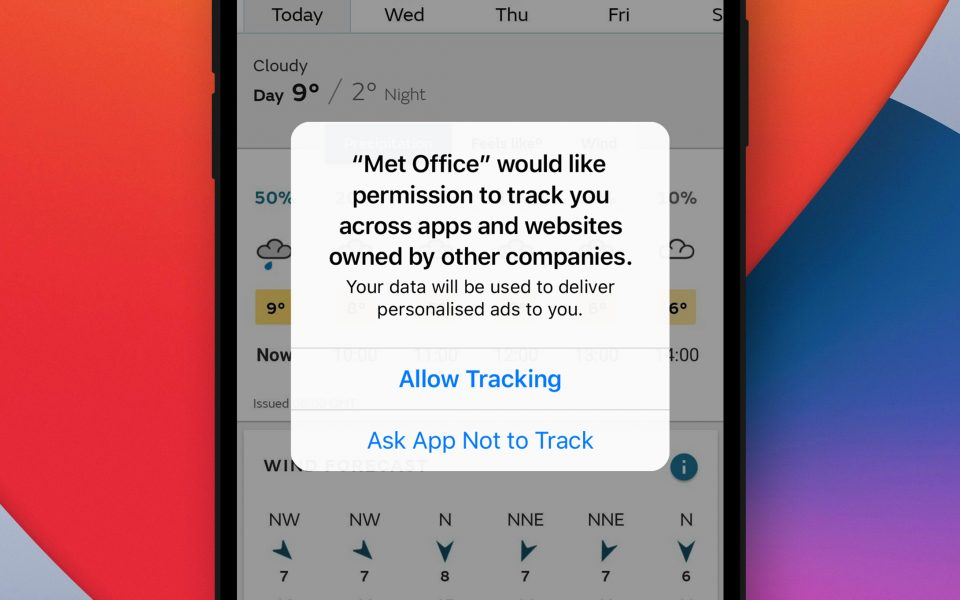 Apple iOS 14 restricts ad tracking