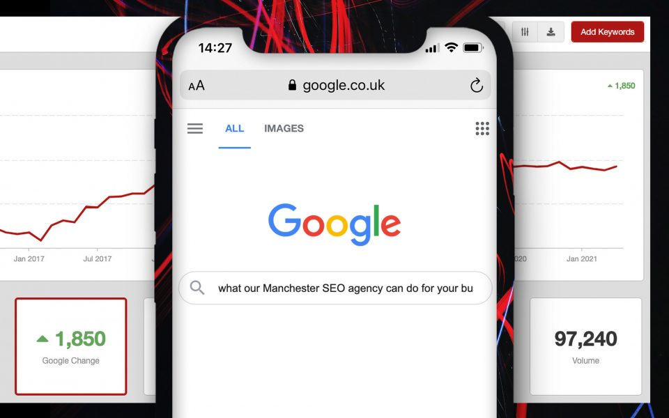Click to find out what sets our Manchester SEO agency apart from the rest and get in touch by speaking to Milica in the Manchester office on 0161 302 8257.